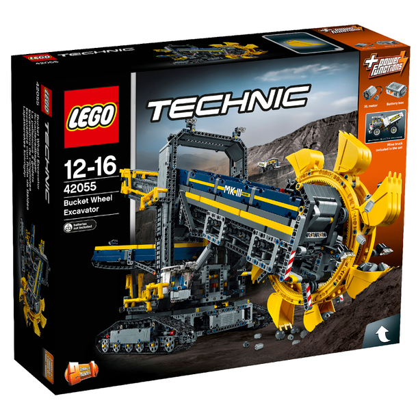 免费直邮中国!LEGO 乐高科技组 大型斗轮式挖掘机 42055