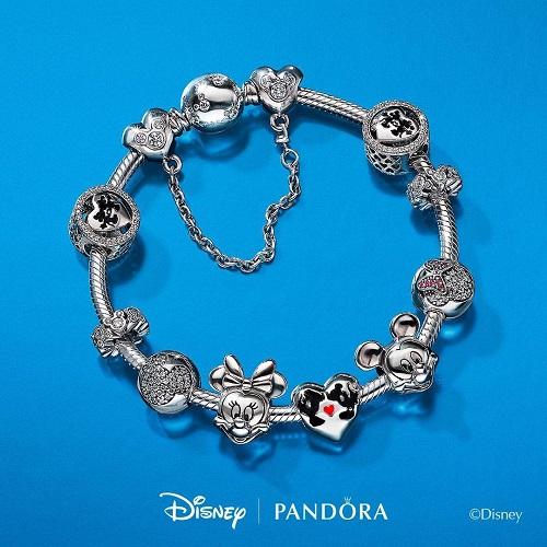 Disney 迪士尼:精美合作款 Pandora 潘多拉 手链、串珠等