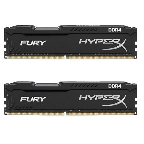 【中亚Prime会员】Kingston 金士顿 骇客神条 Fury系列 DDR4 2400 2x8G 内存条套装
