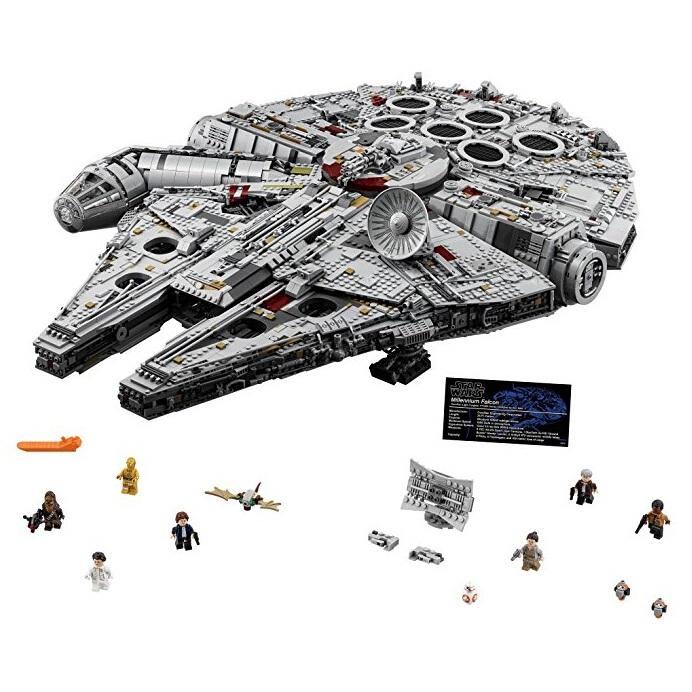 星战迷必入!【美亚自营】LEGO 乐高 UCS 收藏家系列 75192 星球大战豪华千年隼