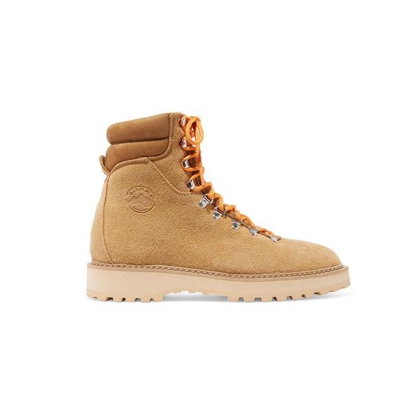新增设计师品牌!DIEMME Monfumo 绒面革踝靴