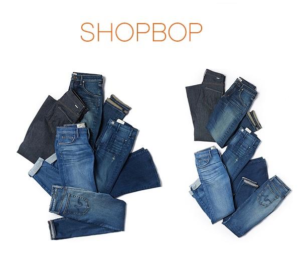 【牛仔褲專題】Shopbop:精選設計師品牌牛仔褲新品上線