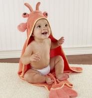 【美亚自营】Baby Aspen 龙虾婴儿连帽浴袍
