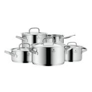 高端德国制造!【中亚Prime会员】WMF 福腾宝 Gourmet Plus 美食家系列 锅具5件套
