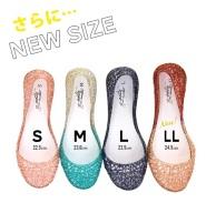 【55海淘节】e-zakkamania 原创橡胶镂空浅口鞋 899日元(约65元)