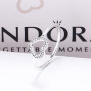 德亞直郵~Pandora 潘多拉 190861CZ 愛心戒指 14.7歐(約114元)