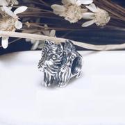 德亞的拍照技術~Pandora 潘多拉 蘇格蘭狗 串珠 10.5歐(約82元)