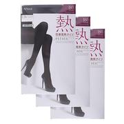 【日亞直郵】ATSUGI 厚木 加厚發熱180D 保暖連褲襪3雙 2754日元(約179元)