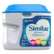 【亚马逊海外购】Similac 雅培 1段成长发育奶粉 658g*3罐