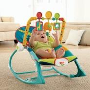 【中亚Prime会员】Fisher-Price 费雪 婴幼儿动物玩具摇椅