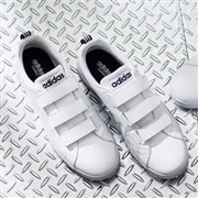 【黑色星期五】Adidas 阿迪達斯VALCLEAN2 CMF BTZ19 中性款休閑鞋 魔術貼款 用碼后3640日元(約221元)