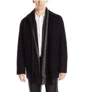史低!Calvin Klein 男士羊毛大衣 $38.28(约277元)