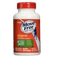 【中亚Prime会员】Schiff Move Free 维骨力 氨基葡萄糖氨糖软骨素绿瓶 120粒