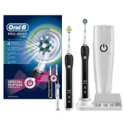 【中亚Prime会员】Oral-B 欧乐-B Pro 4900 电动牙刷 2支装