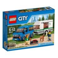 LEGO 乐高 CITY 城市系列 Van Caravan 大篷车与露营车 $12.99(约94元)