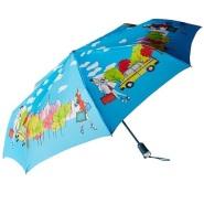 【中亚Prime会员】Totes Grace AOC 城市风景系列 艺术晴雨伞