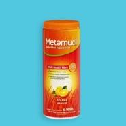 Metamucil 吸油纤维素膳食纤维粉 香橙味 48次 528g AU