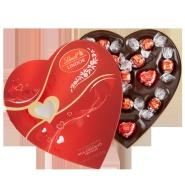 Lindt瑞士莲官网:情人节定制款巧克力 5折特卖+礼盒款6.5折