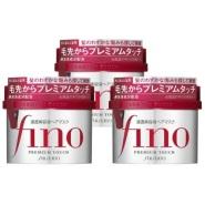 【日亚直邮】Shiseido 资生堂 Fino 浸透美容液发膜230g×3个 直邮退税额外8折价1783日元(约107元)