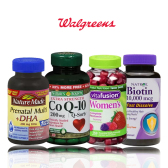 买1送1/第2件半价!Walgreens:Nature Made/Nature