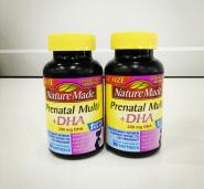 5姐晒单|2瓶0税直邮到手!Nature Made 孕妇DHA复合维生素软胶囊 90粒 $18.69(约135元)