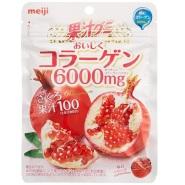 【日亚直邮】Meiji 明治 石榴汁胶原蛋白软糖 81g*6袋