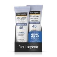 【中亚Prime会员】Neutrogena 露得清 防晒乳 SPF45 88ml*2支