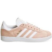 adidas Originals Gazelle 阿迪达斯 淡粉色麂皮运动鞋休闲鞋