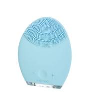 2件7.5折!Foreo Luna 一代蓝色硅胶洁面仪 混合肌肤适用