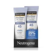 【中亚Prime会员】Neutrogena 露得清 SPF45清透防晒乳 88ml 两只装 到手价87元
