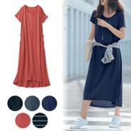 Belle Maison 千趣会 哺乳对应 夏季连衣裙 孕妇装 2990日元(约179元)