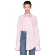 Vetement X Common Des Garçons 80's复古风红白条纹衬衣 $685(约4914元)