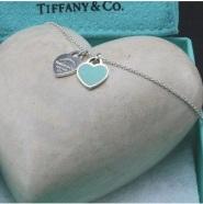 Tiffany & Co. 蒂芙尼 Return to Tiffany系列 Double Heart Tag 吊坠项链