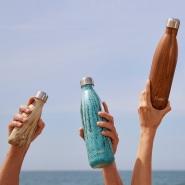 这水瓶颜值超高!【中亚Prime会员】S'well 木纹系列不锈钢保温瓶 500ml 柚木