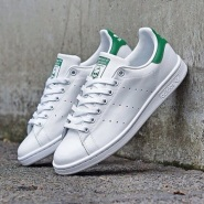 【补货!4.5以上有码!】Adidas Originals 阿迪达斯 Stan Smith 男/女款绿尾小白鞋