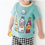 38元!Belle Maison 千趣会 小童T恤 高品质天竺棉 38款可选 637日元(约38元)