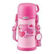 【亚马逊海外购】象印 不锈钢水杯 带杯盖 600ml 粉色 SC-MC60-PA 到手价216元