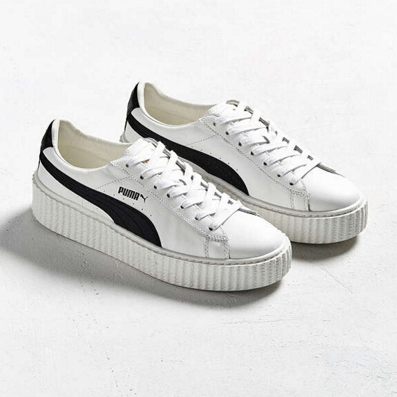 【Puma Fenty 也打折?】Puma Fenty By Rihanna Creeper 男士真皮运动鞋 $120(约869元)