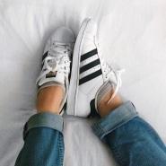 包邮啦!adidas Originals 阿迪达斯男款 Superstar 金标贝壳头运动鞋