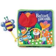 【中亚Prime会员】Manhattan Toy 曼哈顿玩具 带系绳玩具 蜜蜂与花丛布面童话书