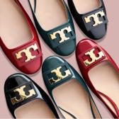 【最后5小時啦!】Tory Burch 官網:精選 Gigi 芭蕾鞋 低至7折