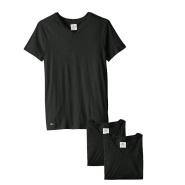 舒适打底T低价!【中亚Prime会员】Lacoste 法国鳄鱼 男士V领基本款棉T恤3件装