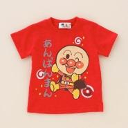 限量!Belle Maison 千趣会×面包超人 纯棉儿童T恤 多款 1620日元(约97元)