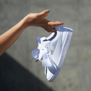 大表姐同款,不抓紧买就断货了!【中亚Prime会员】Puma 彪马 Basket Heart 白色蝴蝶结运动鞋