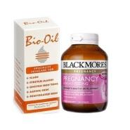 免邮套装!Blackmores 澳佳宝 孕期黄金营养素 120粒+Bio oil 百洛油 200ml NZ$68.5(约352元)