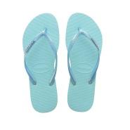 德国直邮!Havaianas 哈瓦那 Slim 薄荷蓝凉拖鞋