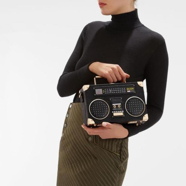 【美亚直邮】aldo tiezzo 链条收音机手提包 $60(约435元)