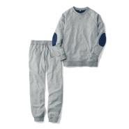 7折!Belle Maison 千趣会 男士纯棉长袖长裤睡衣 2235日元(约134元)