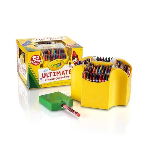 【中亞Prime會員】Crayola 繪兒樂 Ultimate 152色水洗蠟筆套裝