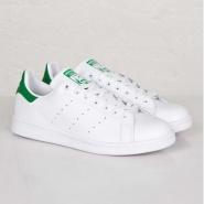 包关税+最高减免120!Adidas Originals 三叶草 Stan Smith 绿尾女士运动鞋 385